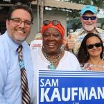 Team Sam Kaufman in Key West.