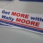 Wally Moore Bumper Stickers