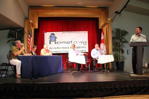 Candidate Forum at the Tennessee Williams Theatre August 18, 2014